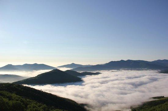 Hoshino Resort Tomamu: 全面雲海。本当にすばらしかった!!