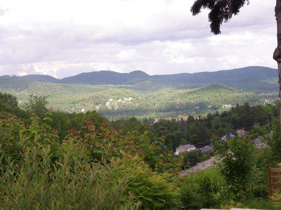 Villa Côté Sud: très belle vue des montagne