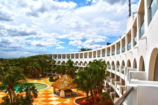 Hotel Uxmal Resort Maya: aussicht vom balkon