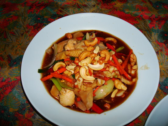 Uncle Noi: Chiken with Cashewnuts