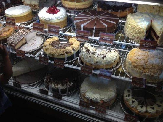 The Cheesecake Factory : Nachtisch.....
