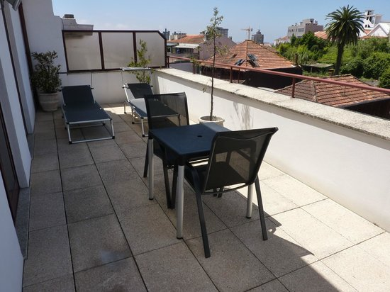 Seculo Hotel : balcon attenant à la chambre