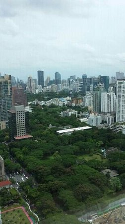 The Okura Prestige Bangkok: view from room on 34th floor