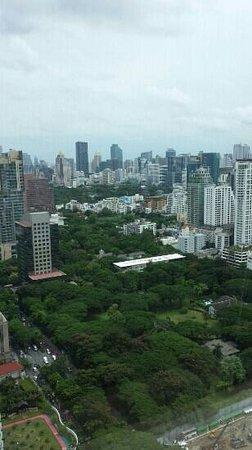 โรงแรมโอกุระ เพรสทีจ กรุงเทพ: view from room on 34th floor