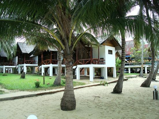 Shangri-La Bungalows: Bungalows at the beach