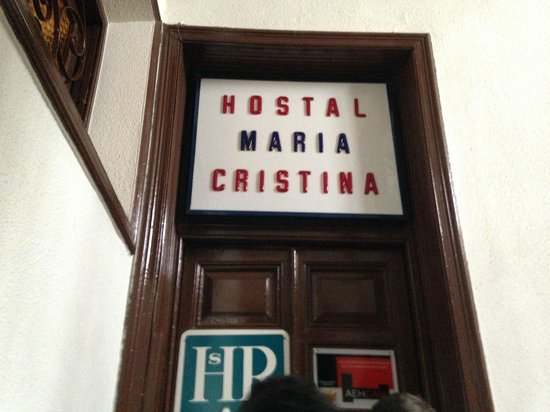 Maria Cristina Hostal: L'ingresso