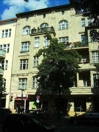 Hotel Alte Galerie: Ansicht von der Strasse