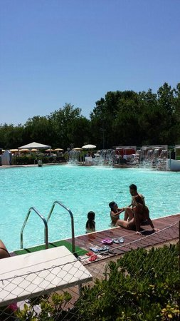Riccione, Italien: piscina grande