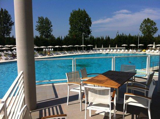 Hotel delle Terme di Venturina: piscina esterna
