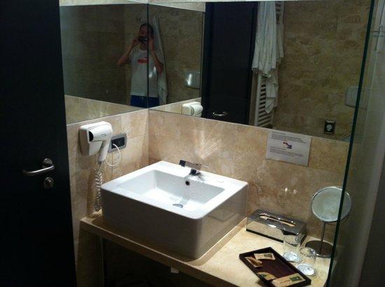 Hotel delle Terme di Venturina: bagno in camera