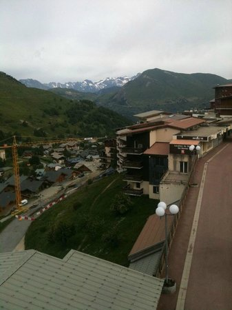 Hotel Turan: The view looking down over the town