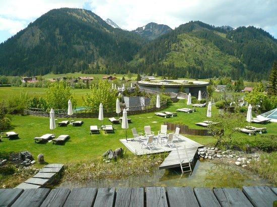 Hotel Jungbrunn - Das Alpine Lifestyle Hotel: Jardin bio