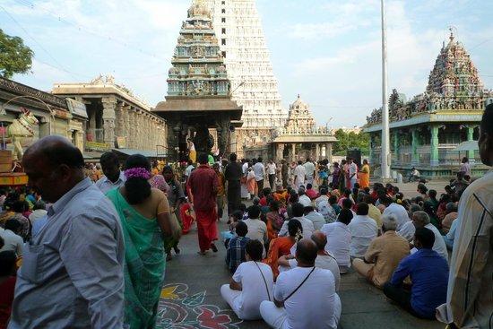 Tiruvannamalai, Inde : Arunachaleswara temple