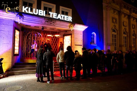 Klubi Teater: Club Theater from outside