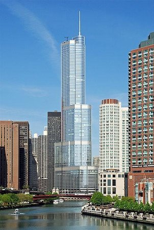 Trump International Hotel & Tower Chicago: Reverse View of room
