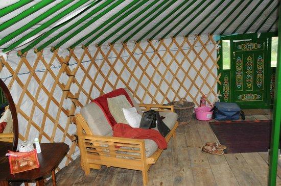 Cae Wennol Yurts: Comfy quarters