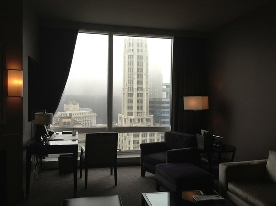 Trump International Hotel & Tower Chicago: View from living room