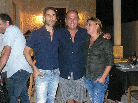 Galatone, Italia: Il regista Ozpetek è spesso ospite della braceria...