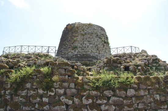 Nuraghe Sant'Antine: torre centrale