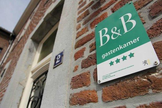 B&B Laken en Servet: Vier sterren kwalificatie