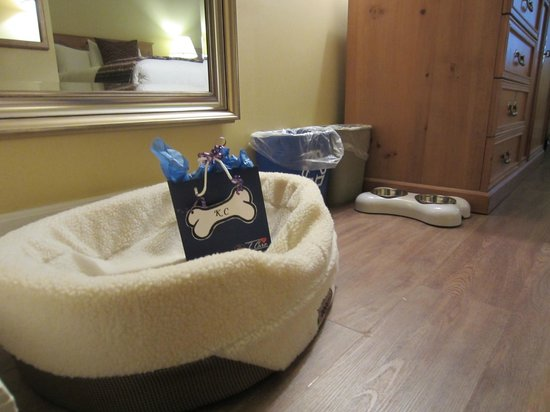 BEST WESTERN Colonel Butler Inn: Doggie amenities
