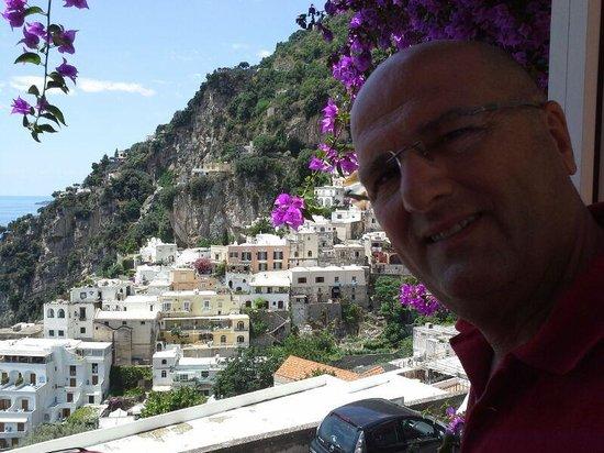 Positano Art Hotel Pasitea: balcone panoramico