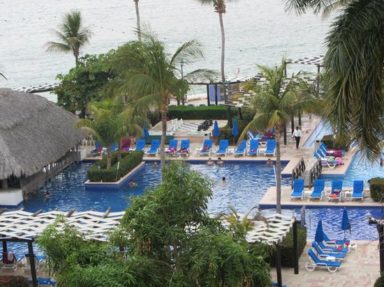 Barcelo Huatulco: View from room