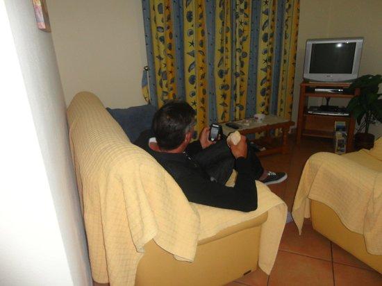 Villa Eber: lounge