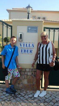 Villa Eber: outside villa