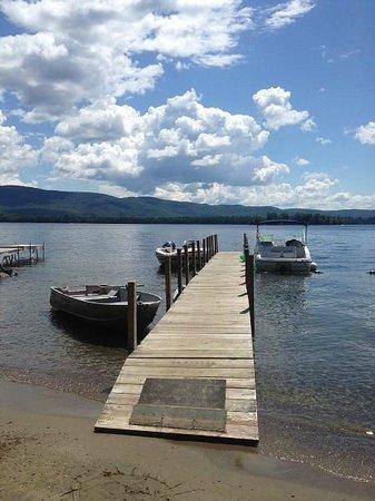 The Juliana: Boat moorings