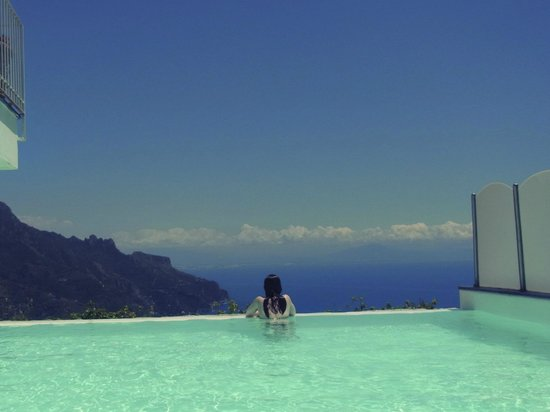 Hotel Villa Fraulo: View from the pool