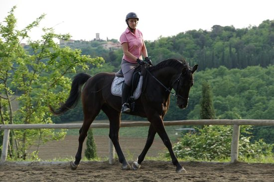 Il Paretaio: wonderful lesson Lendor and Sylvia