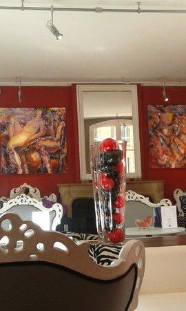 Hotel Cezanne: Recepção do hotel