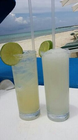 The Carmen Hotel: Margaritas on the beach. ..who needs anything more?
