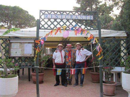 Villaggio Egad: Cena Insieme1 26/06/2013