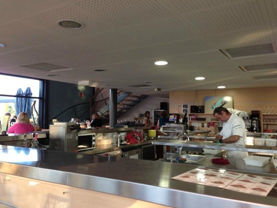 7 ème Vague Boniface : Le restaurant
