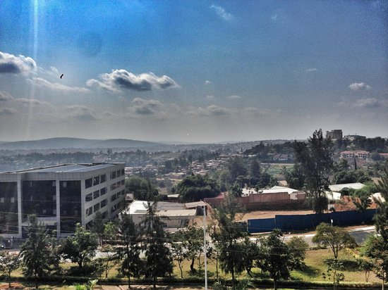 Top Tower Hotel Kigali: View from room 511