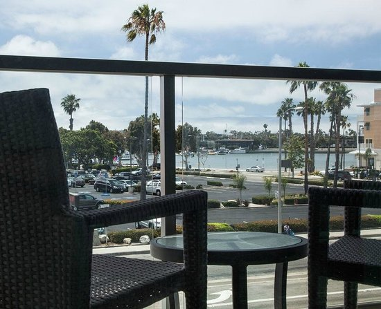 Hilton Garden Inn Los Angeles Marina Del Rey : Balcony Marina View