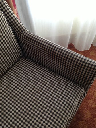 Crowne Plaza Harrisburg-Hershey: Stained chair