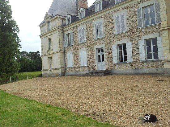 Chateau du Rossay : arriere