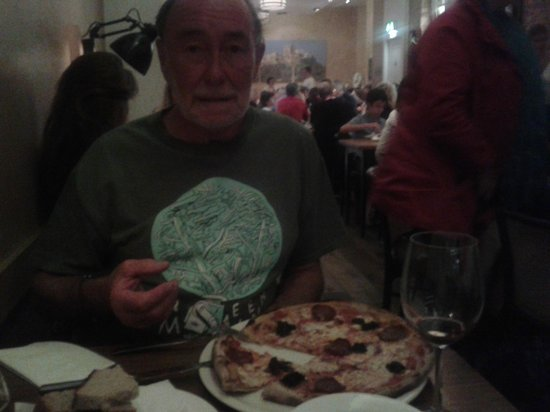 Rocca di Papa: Excellent pizza!