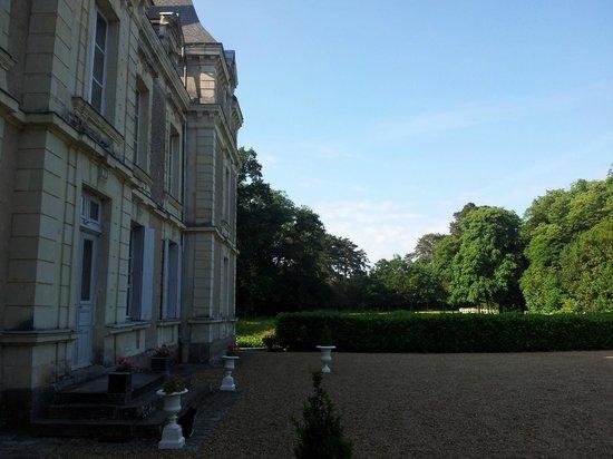 Chateau du Rossay : devant