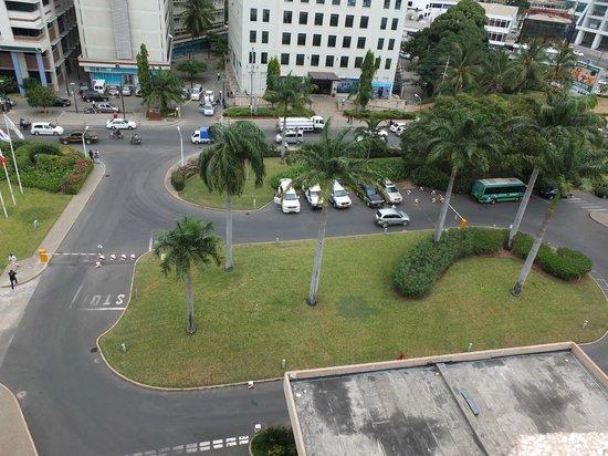 Dar es Salaam Serena Hotel : roof view