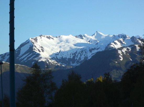 Mercure Les Deux Alpes 1800 Hotel : Uitzicht vanuit kamer