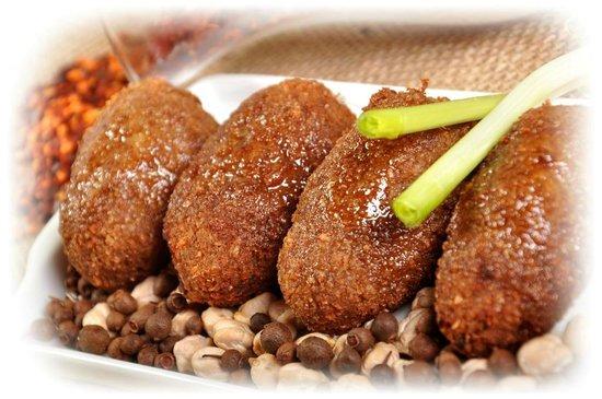 Pimenta Siria Buzios: Quibe Frito / Fried Kebab