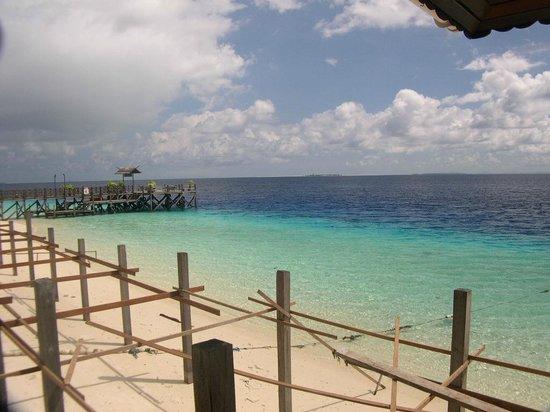 The Reef Dive Resort: il molo