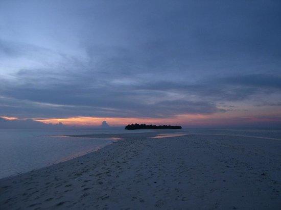 The Reef Dive Resort: il primo tramonto