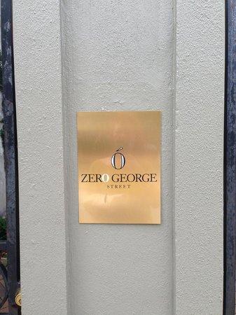 Zero George Street: Entrance