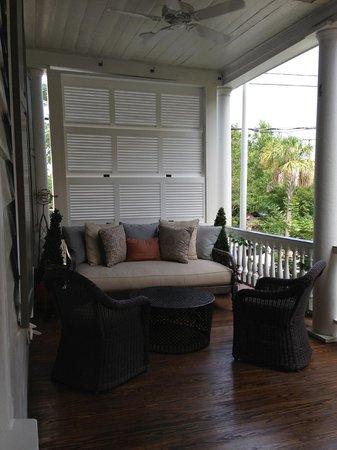 Zero George Street : Cozy verandah