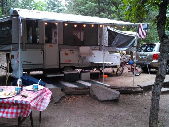 Cruise Inn - Cutty's Hayden Creek Resort: Our campsite